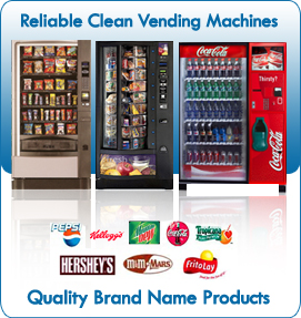 Reliable Clean Vending Machines